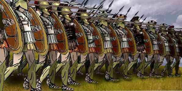 persų imperijos karinė strategija