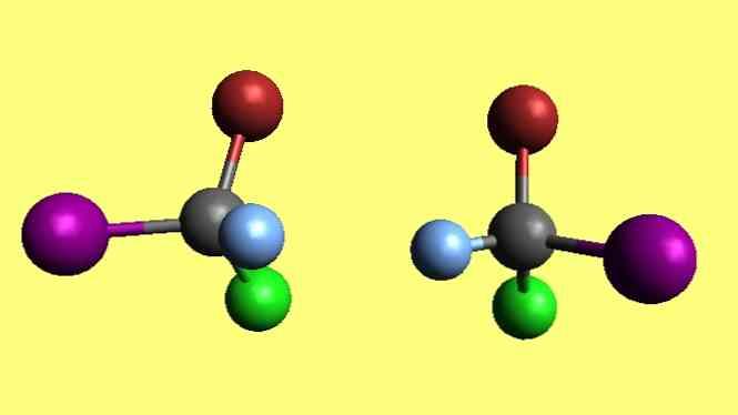 chirality trong những gì nó bao gồm và ví dụ / hóa học